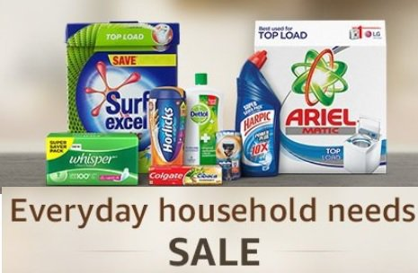 Amazon Everyday Household Needs